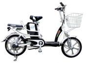 Xe đạp điện Kawa 2 - Trắng màu trắng