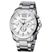 Đồng hồ nam dây thép EYKI P-EY012 (Trắng)