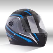 Mũ bảo hiểm fullface Royal M136 tem sọc xanh