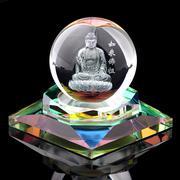 Nước hoa ô tô quả cầu thủy tinh Kanoch Như Lai Phật Tổ