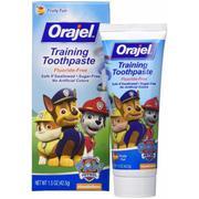 Kem đánh răng ORAJEL nuốt được cho bé Paw Patrol 42.5g