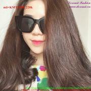 Kính mát Hàn Quốc gọng vuông đẳng cấp sành điệu KMTT208