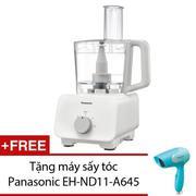 Máy chế biến thực phẩm PANASONIC MK-F300WRA + Tặng 1 máy sấy tóc Panasonic EH-ND11-A645