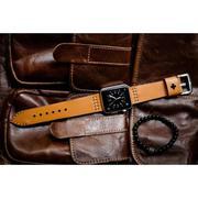 Dây đồng hồ da thật Handmade cho Apple Watch ( 38mm và 42mm ) – Mẫu BF02D144