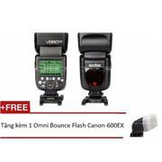 Flash Godox Li-ion VING V860II for Sony + Tặng kèm 1 Omni Bounce Flash (Đen)