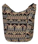 Túi đeo unisex họa tiết thổ cẩm - B
