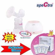 Máy hút sữa Spectra M2 (Trắng) + 30 túi trữ sữa Unimom