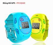 Đồng Hồ GPS Trẻ Em - ITV Q520 Màn OLED