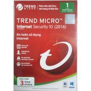Phần mềm diệt virus Trend Micro Internet Security 10 (2016) - 1 PC - 1 Năm + Tặng thêm 3 tháng