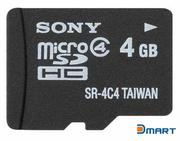 Thẻ nhớ SONY 4GB MicroSD Card (with SD adaptor)
