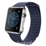 Apple Watch Blue Leather