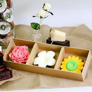 Set 3 Xà Bông Hình Hoa - Trái Cây Eccomorning