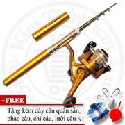 Bộ cần câu cá du lịch KT Mini M1 Gold 100cm