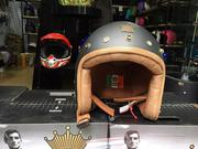 Mũ Bảo Hiểm 3/4 Royal Luxury M20-A Đen Nhám