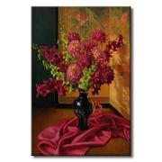 Tranh in canvas sơn dầu Thế Giới Tranh Đẹp Static-195
