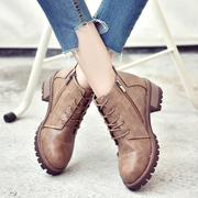 Giày boot retro 8426