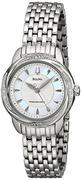 Đồng hồ nữ Bulova 96R153 Precisionist Brightwater Swirl pattern Watch