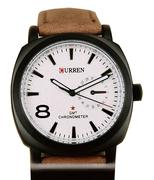 Đồng hồ Curren dây nâu chống nước CR001 - Nâu đậm