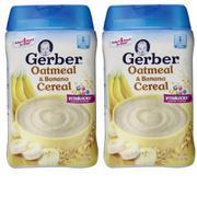 Bộ 2 hộp bột ăn dặm cho bé Gerber