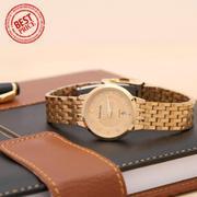 Đồng hồ nữ dây kim loại Baishuns