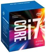 CPU Intel Core i7-7700 3.6 GHz / 8MB / HD 630 Series Graphics / Socket 1151 (Kabylake)