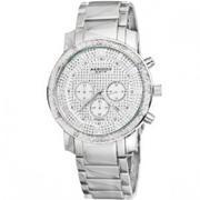 Đồng hồ Akribos XXIV nam AK439SS Grandiose Diamond Quartz Chronograph
