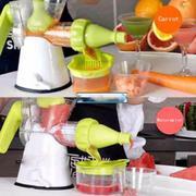 Máy xay ép trái cây bằng tay Manual Juicer (Xanh)