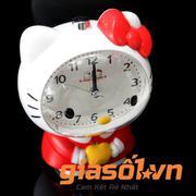 Đồng hồ báo thức để bàn Hello Kitty - SS19054 (Đỏ)
