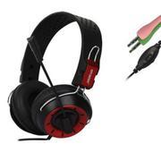Tai nghe chụp tai gaming Ovann X10 (Đỏ phối đen)