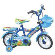 Xe đạp trẻ em 2 bánh Fish màu xanh M904, cho trẻ từ 2~4 tuổi