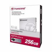 Ổ cứng SSD Transcend SSD 370S 256Gb, SATA 3 - 6Gb/s - Hàng nhập khẩu
