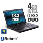 Acer TravelMate TM8371-6457 LX.TTD03.077 Timeline Notebook PC - Intel Core 2 Duo ULV SU9400 1.40GHz,...