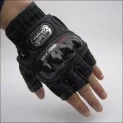 Găng tay chiến thuật cụt ngón PProo-bIbiker (Đen) L