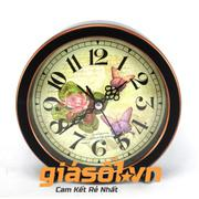 Đồng hồ báo thức G51 hình con bướm (Đen)