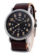 Đồng hồ nam dây da năng động TIMEX TW2P85800 - Nâu