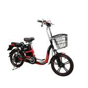 Xe đạp điện HK Bike ZINGER COLOR (Đỏ phối đen)