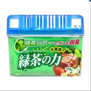 Bộ 2 hộp khử mùi tủ lạnh hương trà xanh Kokubo (Japan)