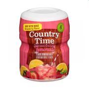 Bột pha nước trái cây Country Time vị strawberry(19oz-538g)