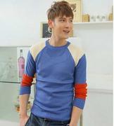 áo len nam phối màu