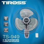 Quạt treo tường Tiross TS949, có điều khiển, hẹn giờ