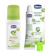 Bộ Lăn chống muỗi Chicco 60ml 10670 và Lăn bôi vết muỗi và côn trùng cắn Chicco 0988 10m