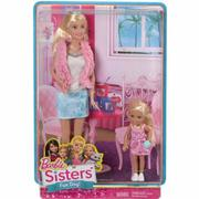 Bộ 2 chị em Barbie và Chelsea CGF34 - SAMSUNG CONNECT