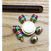 Con quay Fidget Spinner 6 cánh bánh lái chất liệu đồng