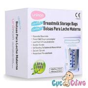 Túi trữ sữa mẹ Unimom compact không BPA (20 túi – 210ml) (Hàn Quốc) - UM870367
