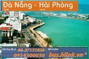 Vé xe giường nằm Hải Phòng - Đà Nẵng