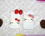 Ốp Iphone 5 Hello kitty đính hạt dễ thương OP81