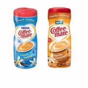 Bộ 2 Bột Kem Pha Cà Phê Nestle Coffee Mate Vị Caramel + vị Vani Pháp 425g