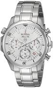 Đồng hồ nam Bulova 96B255 Silvertone Watch