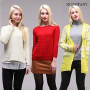 [HONEYDEAL] [Nhiều lựa chọn] Áo len nữ form thời trang SJ company