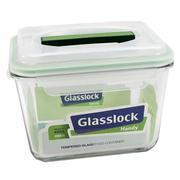 Hộp Thủy Tinh Chữ Nhật Nắp Có Tay Cầm 2500ml Glasslock Mhrb 250
